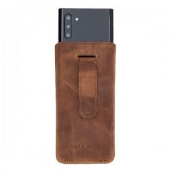 Bouletta Multi Case Deri Telefon Kılıfı Samsung Note10 G2 Kahve