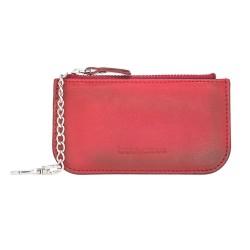 Bouletta Multima Deri Kadın Kartlık Kırmızı