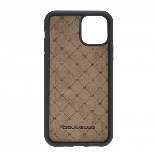 Bouletta MW Deri Telefon Kılıfı iPhone 11 BRN4EF Mavi