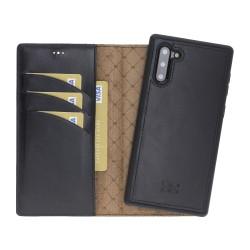 Bouletta MW Deri Telefon Kılıfı  Samsung Note 10 RST1 Siyah RFID