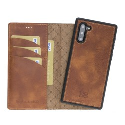 Bouletta MW Deri Telefon Kılıfı  Samsung Note 10 TN11 Taba RFID