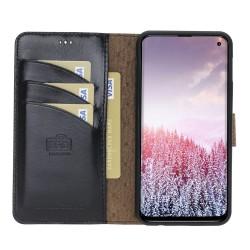 Bouletta MW Deri Telefon Kılıfı Samsung S10E RST1 Siyah RFID