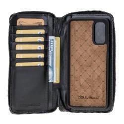 Bouletta MW Pouch Deri Telefon Kılıfı  Samsung S20 RST1 Siyah RFID