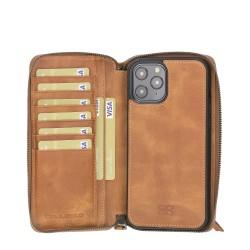Bouletta MW Pouch Deri Telefon Kılıfı iPhone 12 Pro Max TN11 Taba RFID