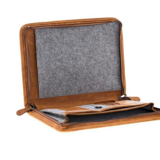 Bouletta Sparta Deri Laptop Çantası G19 Taba