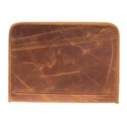 Bouletta Sparta Deri Notebook Evrak Tablet Çantası G19 Taba