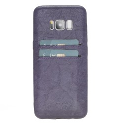 Bouletta UC-CC Arka Kapak Samsung S8 Deri Telefon Kılıfı B13 Mor