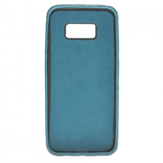 Bouletta Ultra Cover-CC  Deri Telefon Kılıfı Samsung S8 Plus B14 Yeşil