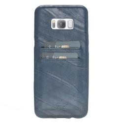 Bouletta Ultra Cover-CC  Deri Telefon Kılıfı Samsung S8+ Turkuaz