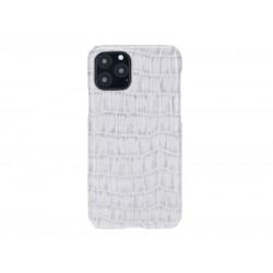 Bouletta Ultimate Jacket Deri Telefon Kılıfı iPhone 11 Pro YK03 Beyaz
