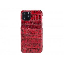 Bouletta Ultimate Jacket Deri Telefon Kılıfı iPhone 11 Pro YK05 Kırmızı