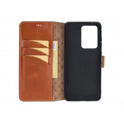 Bouletta Wallet Case Deri Telefon Kılıfı Samsung S20 Ultra RST2EF Taba