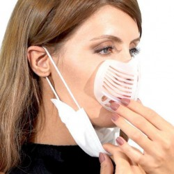 Currved Easy Breath Maske Aparatı 5 Adet