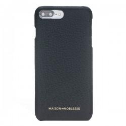 Maison de Noblesse Ultimate Jacket Deri Telefon Kılıfı iPhone 7/8 Plus ERC1 Siyah
