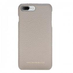 Maison de Noblesse Ultimate Jacket Deri Telefon Kılıfı iPhone 7/8 Plus ERC3 Bej