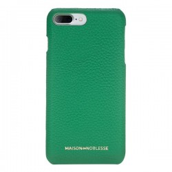 Maison de Noblesse Ultimate Jacket Deri Telefon Kılıfı iPhone 7/8 Plus ERC4 Yeşil