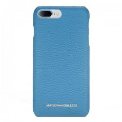 Maison de Noblesse Ultimate Jacket Deri Telefon Kılıfı iPhone 7/8 Plus ERC8 Mavi