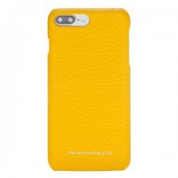 Maison de Noblesse Ultimate Jacket Deri Telefon Kılıfı iPhone 7/8 Plus FL12 Sarı