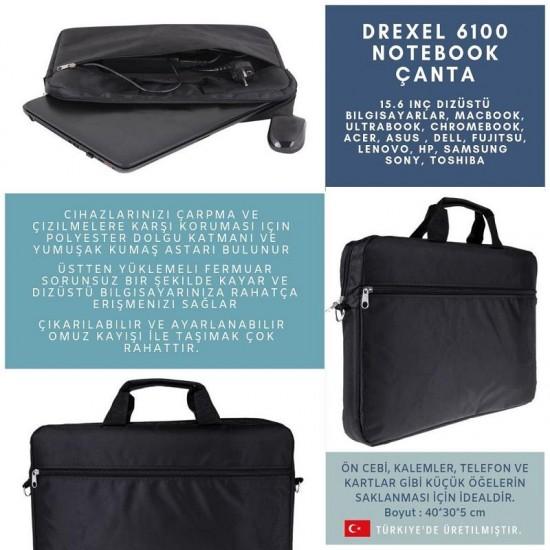 Drexel 6100 15 inç Laptop Çantası