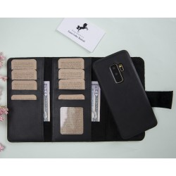 Plm Santa MW Deri Telefon Kılıfı Samsung S9+ Siyah